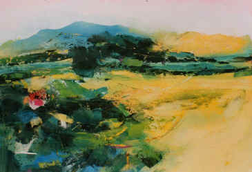 Spring Light - a painting by Derek Menary